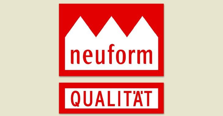Neuform-Qualitätssiegel
