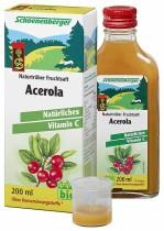 Acerola-Saft 200ml-Flasche