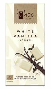 """Rice Choc """"White Vanilla"""" 80g-Tafel"""