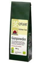 Grüner Tee Gunpowder 100g-Packung