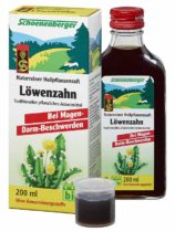 Heilpflanzensaft Löwenzahn 200ml-Flasche